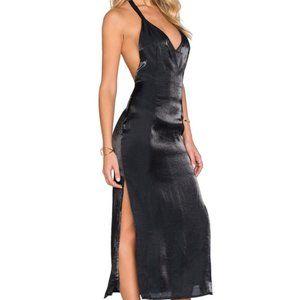 ASILIO REVOLVE New Homecoming Slip Dress black